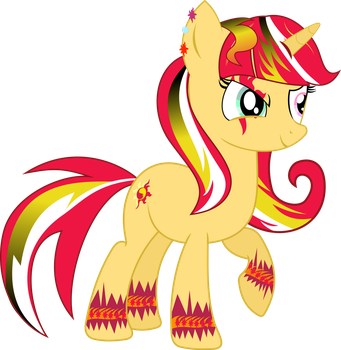 Gothic sunset shimmer by illumnious