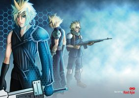 Cloud strife by je2bot