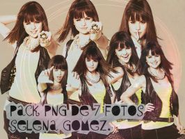 Pack PNG Selena Gomez by isourdream