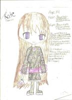 A Shadow Chronicles Charater: Kate by FrozenFlyingKero