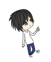 -Death Note- L ::Chibi:: by Azala-Chan