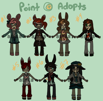 Bunny Adoptions 1 (closed) by ReineAdopts