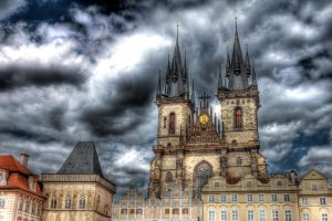 Tyn Church by EllieFragile