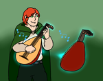 Gift: Kvothe by JomoOval