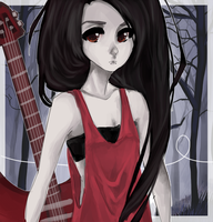 Marceline by Avvyraptor