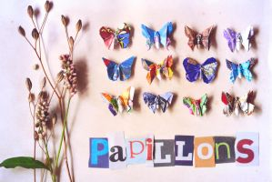 Papillons by synconi