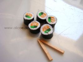 Mini Sushi by alicoe