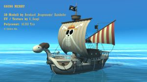 Going Merry - 3D Modell by SimonGangl