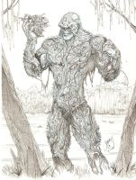 Swamp Thing by SammyG23