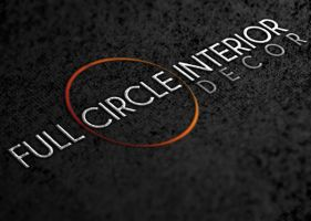 Full Circle Interior Decor Logo by CodySymes