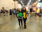 Rogue and ShadowCat by SophiaHeartwell