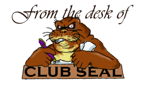 Club Seal with no background by SealisGreat