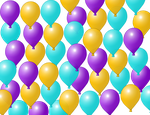 Balloon Background by TiaPrincessNews
