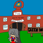 Green Hill High Cover Page Ch.1 by hedgihogs