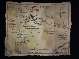 Thorin's map by SalmaHSaleh
