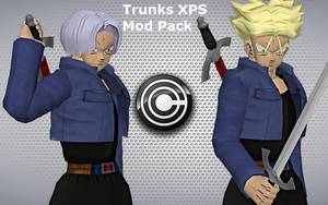 Future Trunks (super saiyan version incuded) by Tony-Antwonio