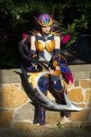 Dark Valkyrie Diana Cosplay 1 by SuspiciousTumbleweed