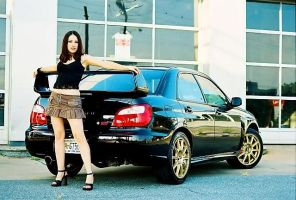 Anitra Z and car by photoruss