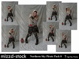 Northern Sky Pirate Pack 8 by mizzd-stock