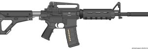 My Colt M4A1 Magpulized with Carrying Handle by Scarlighter