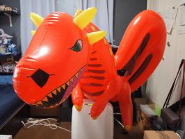 Inflatable Dragon by spacetimePSD