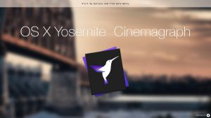 OS X Yosemite - Cinemagraph by AppleIconDesign