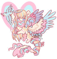 [AUCTION] Cupid Goddess Wispup - CLOSED by Kitsurie