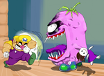 Wario VS Spoiled Rotten by mrRUTTO