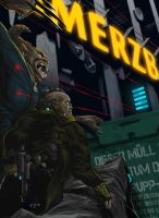 Shadowrun Extraction Gone Bad by raben-aas