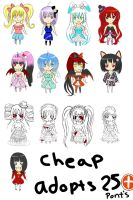 Open  Adopts 6/13 by Kiyomi--Hime