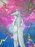 Electric Alligator, Princess of the Universe by xRaithe