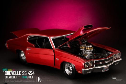 Vintage 1970 Chevelle SS 454 by lightronin