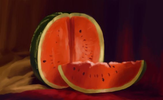 Watermelon by AtmaCat