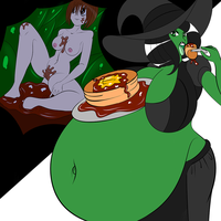 Breakfast With Witchy by Green-Glutton