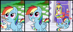 Rainbow Dash's canvas by CSImadmax