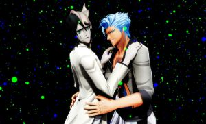 [BLEACH MMD] 'Not now, Grimmjow...' by PsychoMP