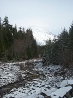Mt.Rainer in a winters day. by pokemontrainerjay