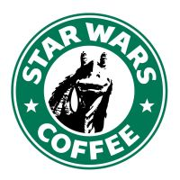 Starbucks Jar Jar Binks by theCrow65