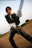 Dissidia Squall - In Action by SeanDonnanArt