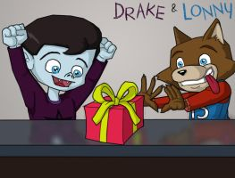 Drake and Lonny - The Gift by shubcthulhu