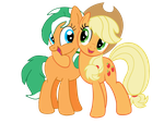 The Apple Family Reunion's host and co-host by EmoshyVinyl