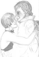 Prom 2010 pencil drawing by xblade7x