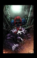 Venom/Spiderman - Rivett/Kordos/Lavy by JackLavy