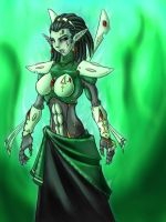 Xenos Warrior Princess by Graphite-Dream