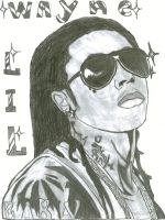 lil wayne by dark-crystal-bearers