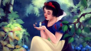 Disney Redraw: Snow White by MelodyMoore