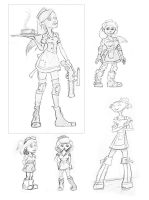 Character Sketches by themyshkin