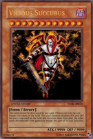 Vicious Succubus Yu-Gi-Oh Card by straightjacket12