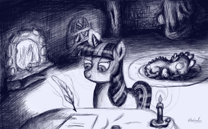 Pulling an all nighter-Twilight by instant-noodle5