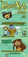 Excellent Meme: Psychonauts by Zxel